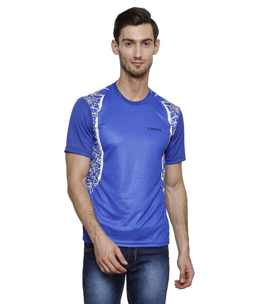 Sudeva Blue Round T-Shirt