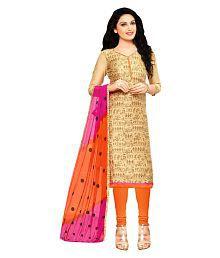 Cotton Silk Salwar Suits: Buy Cotton Silk Salwar Kameez Online at ...