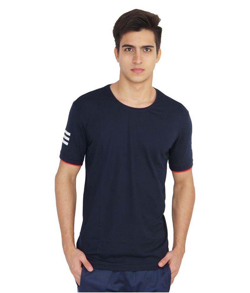 Adidas Navy Round T-Shirt