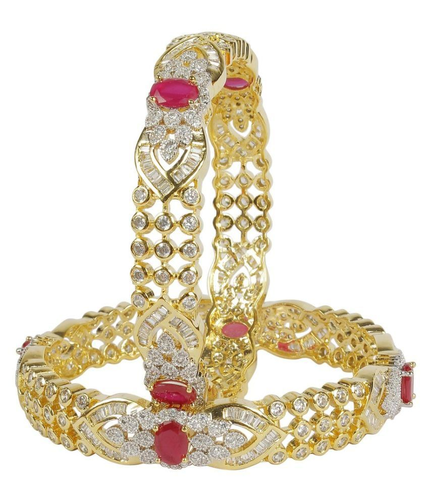 Much More Gold Alloy Bangle Set