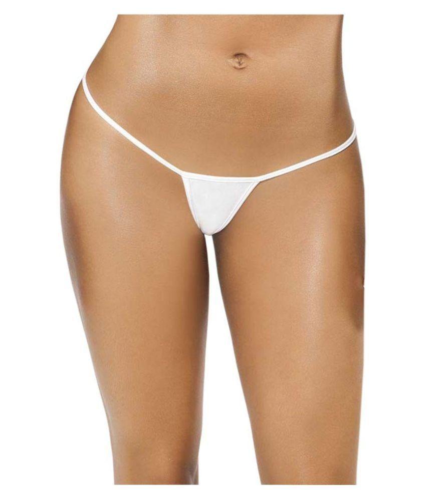Timi White Cotton Panties