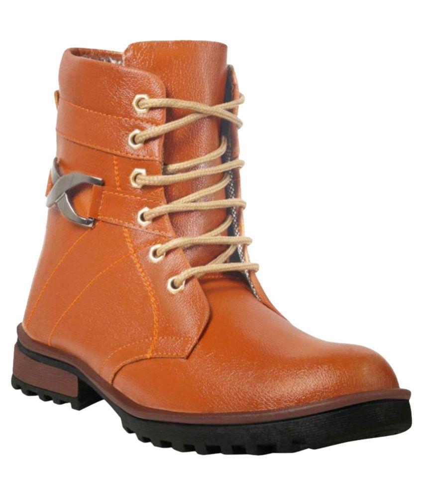 ADYBird Brown Party Boot