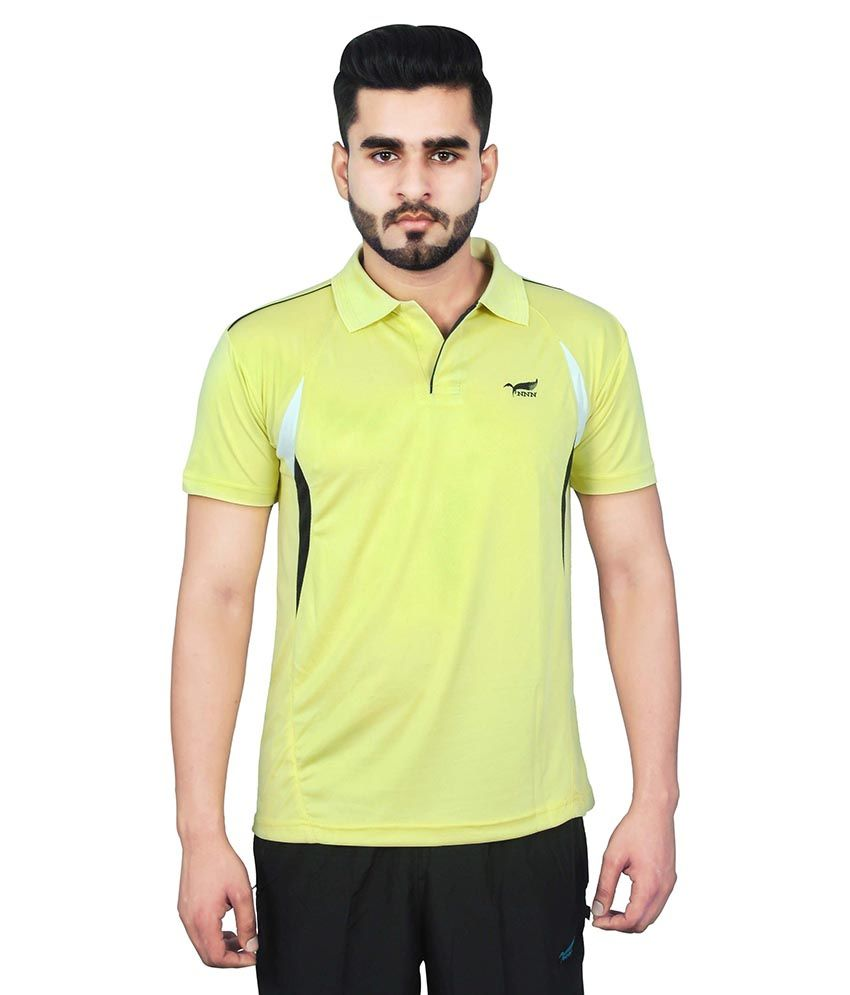 NNN Yellow Polo T-Shirt