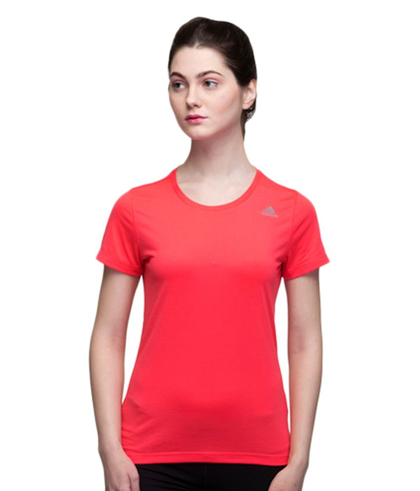 Adidas Pink Women's Training Ais Prime Tee