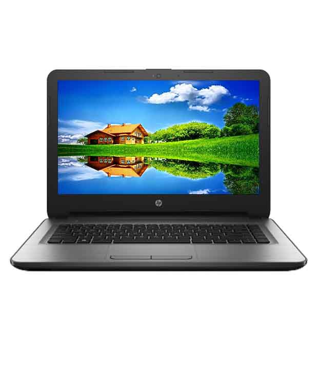 HP 14-AR001TU Notebook (X1G69PA) (5th Gen Intel Core i3- 4GB RAM- 1TB HDD- 35.56 cm (14)- DOS) (Silver)