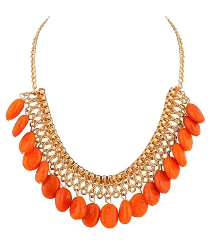 Fedexo Orange Necklace