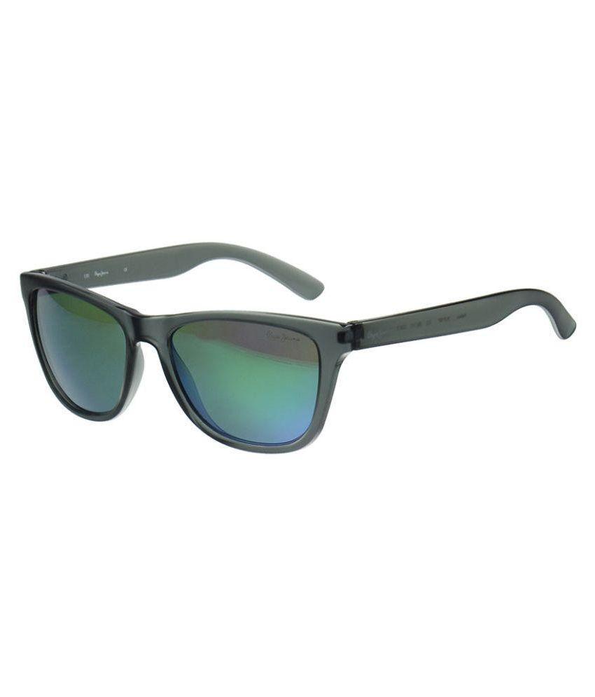 6334b4eaf2 Pepe Jeans Green Wayfarer Sunglasses ( PJ7197C255 ) - Buy Pepe Jeans Green Wayfarer  Sunglasses ( PJ7197C255 ) Online at Low Price - Snapdeal