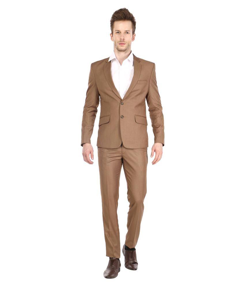 Platinum Studio Brown Party Suits
