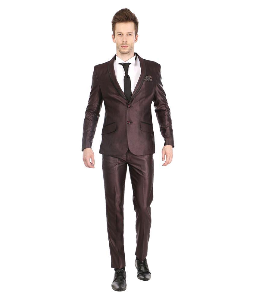 Platinum Studio Maroon Party Suits