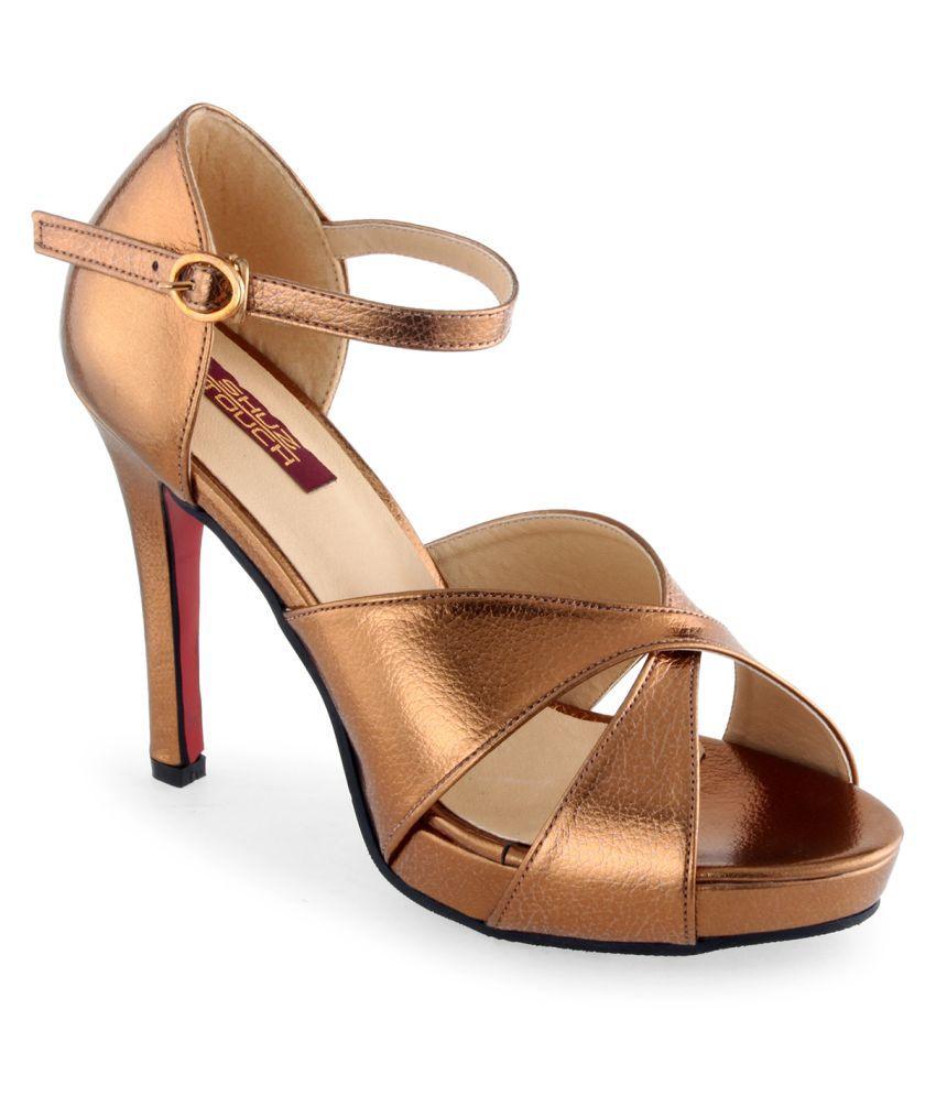 Shuz Touch Brown Stiletto
