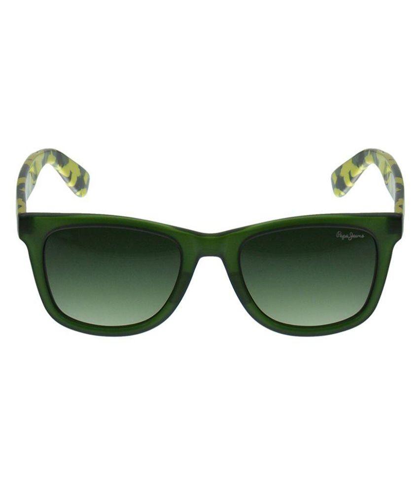 c5ca802ff3483 Pepe Jeans Green Wayfarer Sunglasses ( PJ7233C452 ) - Buy Pepe Jeans ...