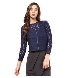 Mayra Net Regular Tops
