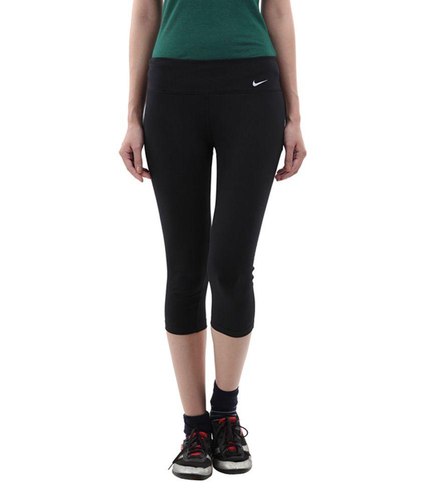Nike Black AS Legend 2.0 TI DFC R Training Capris for Women