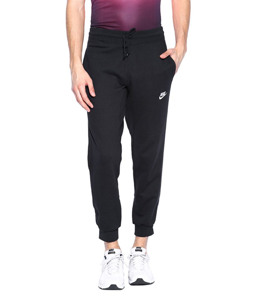 Nike Black AW77 FT CUFF NSW Track Pant for Men