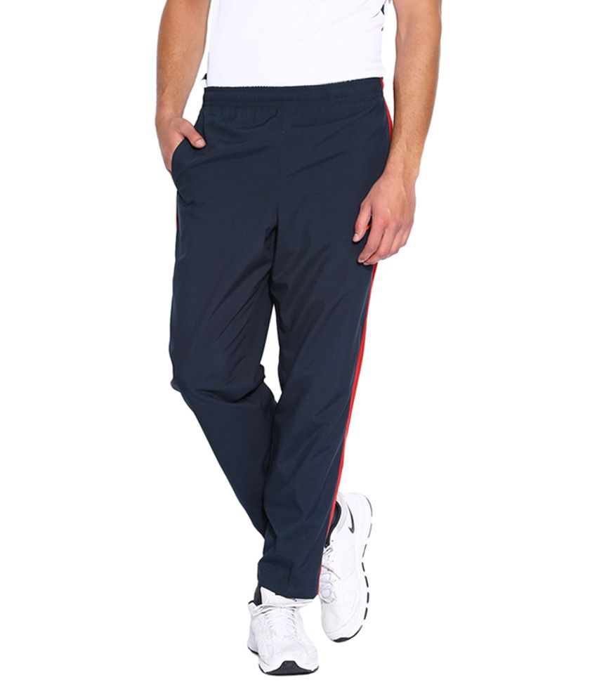 Nike Navy and Red Track Pant for Men