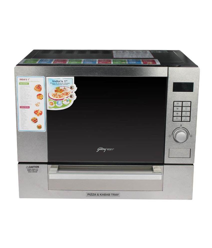 Godrej 25 LTR GME 25GP1 MKM Grill Microwave Oven (Pizza And Kebab Maker)