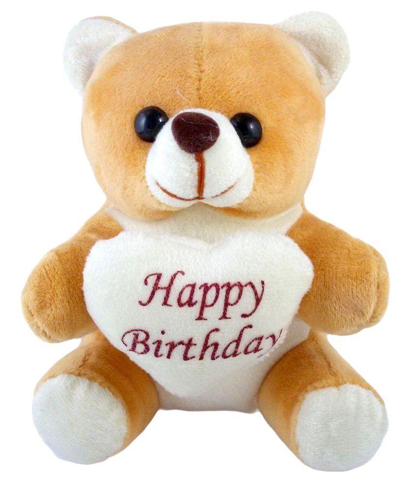 now n new brown happy birthday teddy bear buy now n new brown