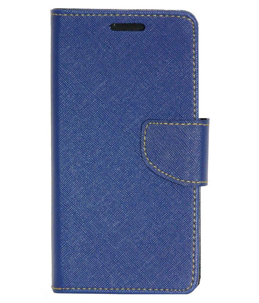 Samsung Metro XL Flip Cover by Gizmofreaks - Blue