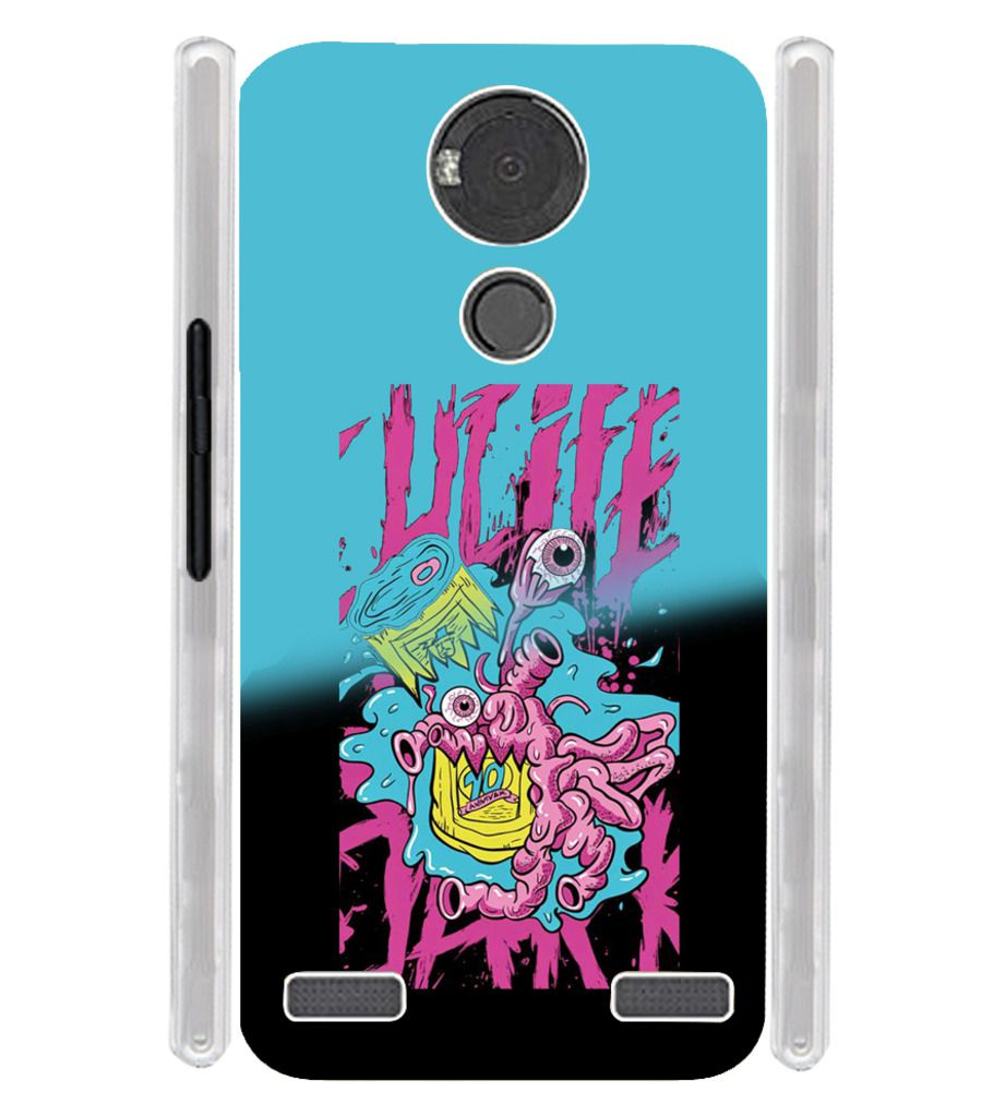buy popular a44fd 43cee Yu Yureka Note 6000 Printed Cover By Fuson - Printed Back Covers ...