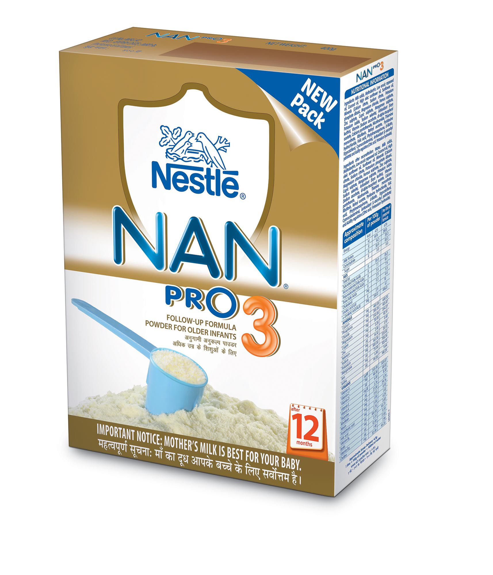 Nestle Nan Stage 3 Infant Formula 400 Gm Buy Nestle Nan