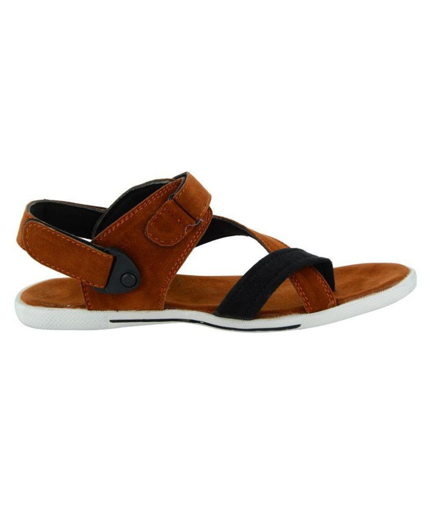 Rick Rock Brown Sandals Price in India