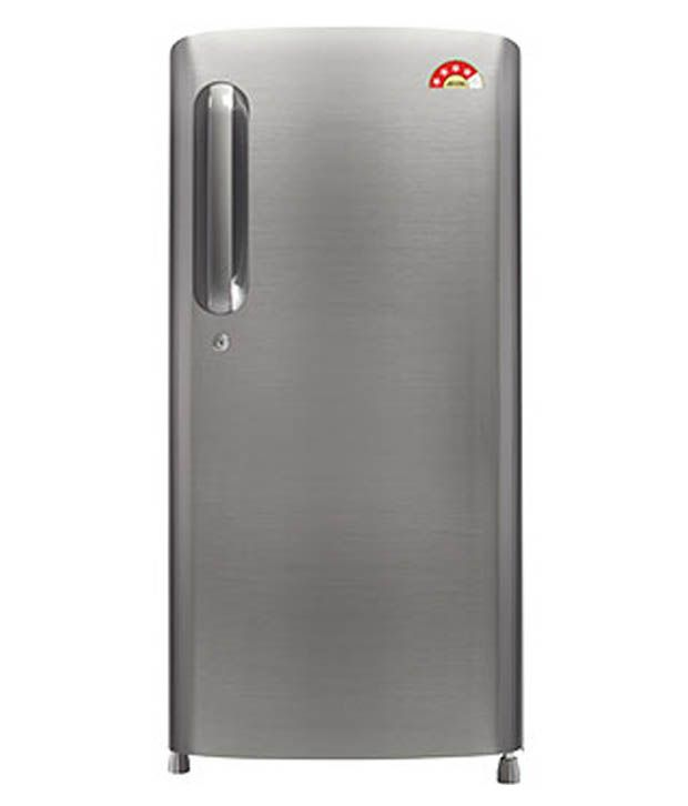 LG 190 LTR 4 Star GL-B201APZL Direct Cool Refrigerator - Shiny Steel