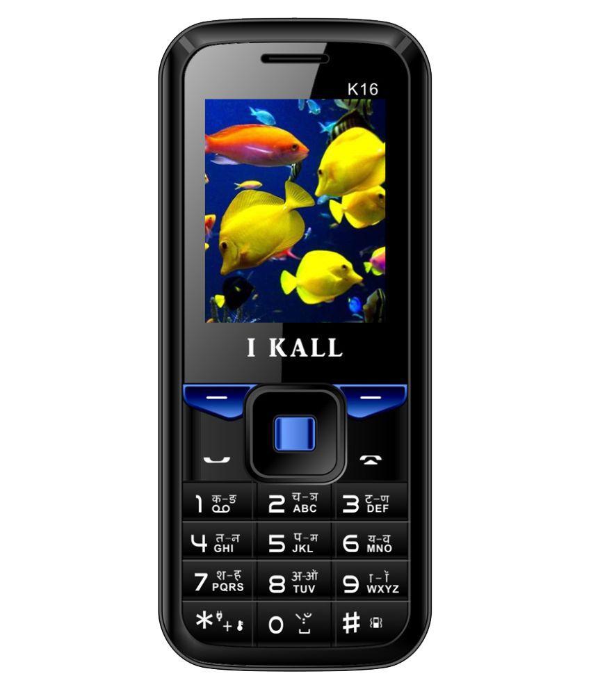 I Kall K16 4GB and Below Blue Black