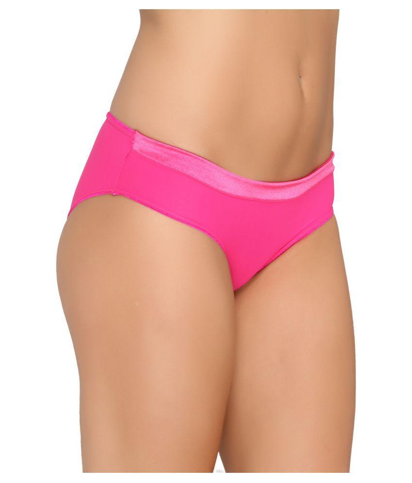 valentine pink nylon panties valentine pink nylon panties - Valentine Panties