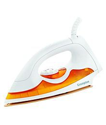 Crompton Greaves ACGEI-PD Automatic electric Iron Dry Iron white and orange