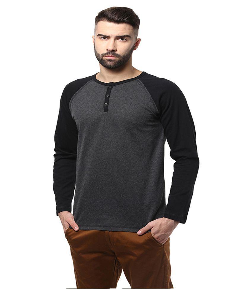 Unisopent Designs Grey Henley T Shirt