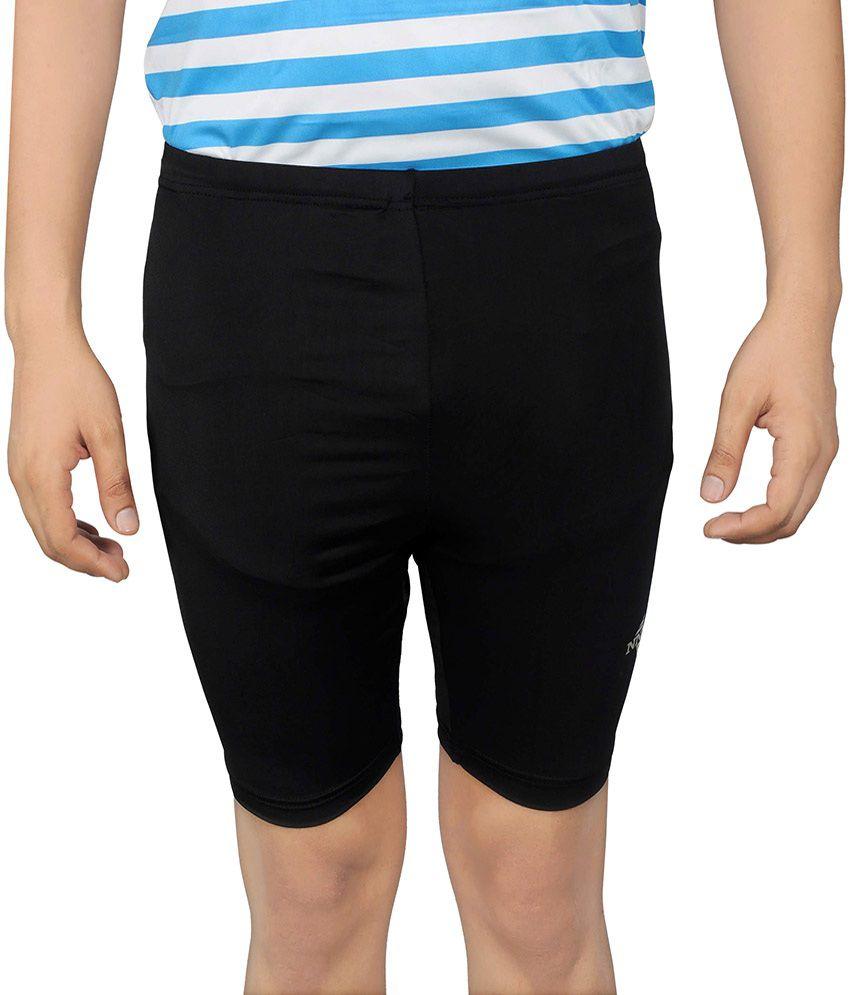 NNN Black Lycra Cycling Shorts
