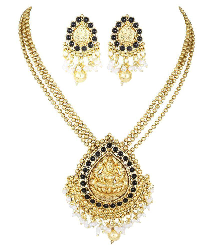 Karatcart Golden Necklace Set