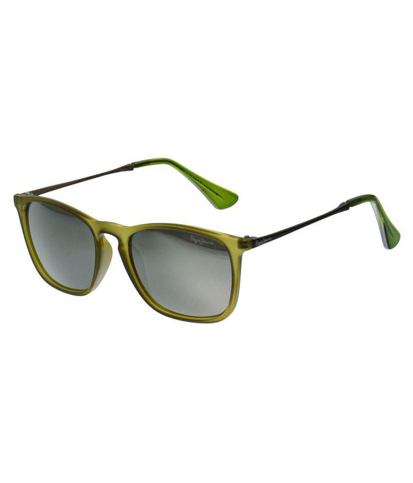 f529330df7 Pepe Jeans Gray Wayfarer Sunglasses ( PJ7241C3 ) - Buy Pepe Jeans Gray Wayfarer  Sunglasses ( PJ7241C3 ) Online at Low Price - Snapdeal