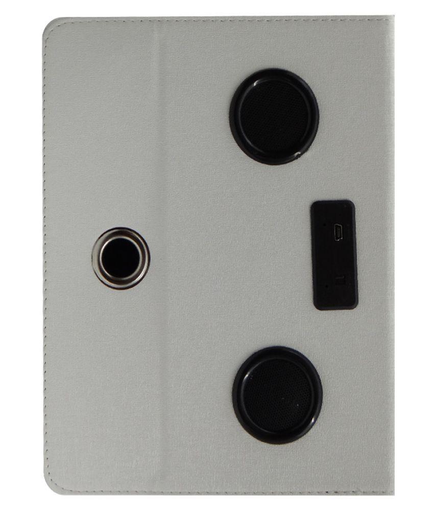 HP Omni 10 Flip Cover By ACM White