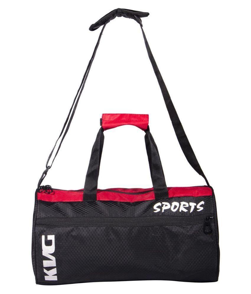 KVG Black Gym Bag