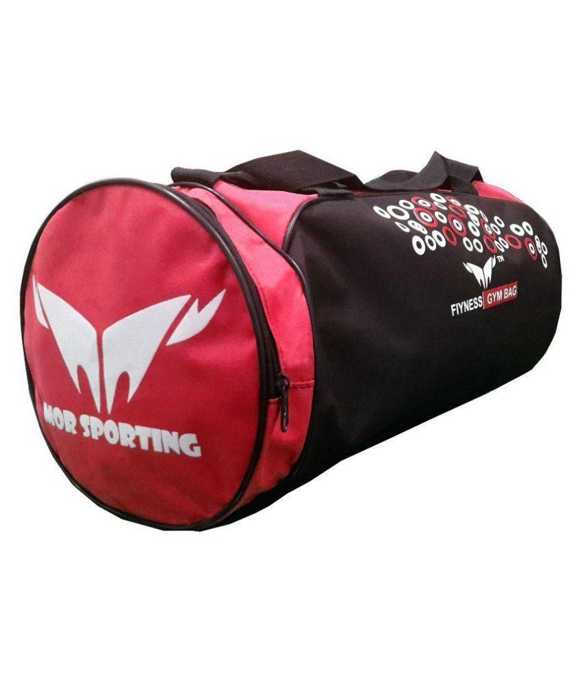 Mor Sporting Black Gym Bag