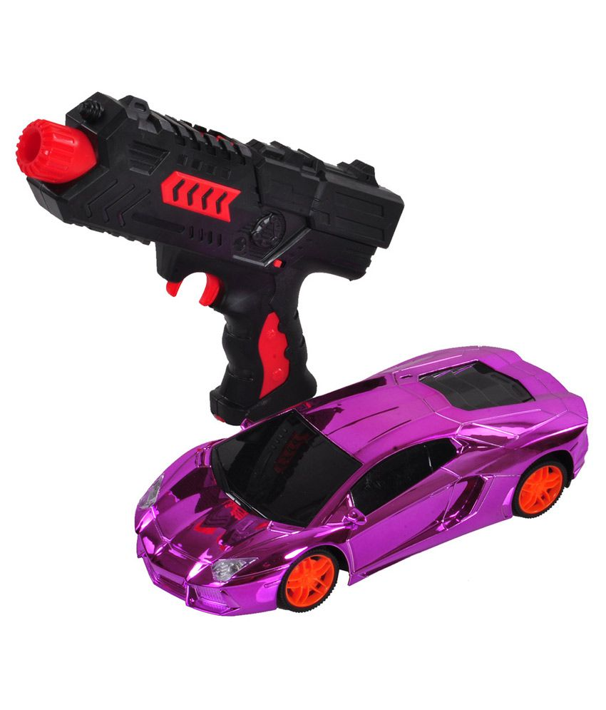 Venus Toys Purple Remote Control Car With Water Bullet Gun Online At Low Price Snapdeal