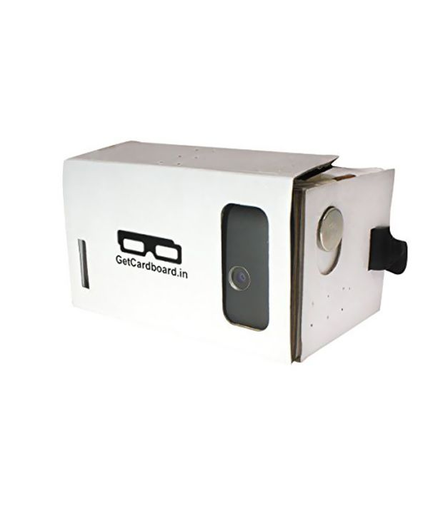 GetCardboard Virtual Reality Viewer VR headset 3D video glasses inspired from Google Cardboard (Assembled)