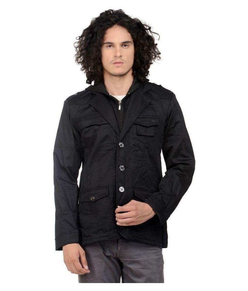 MM Fashion Black Casual Blazers