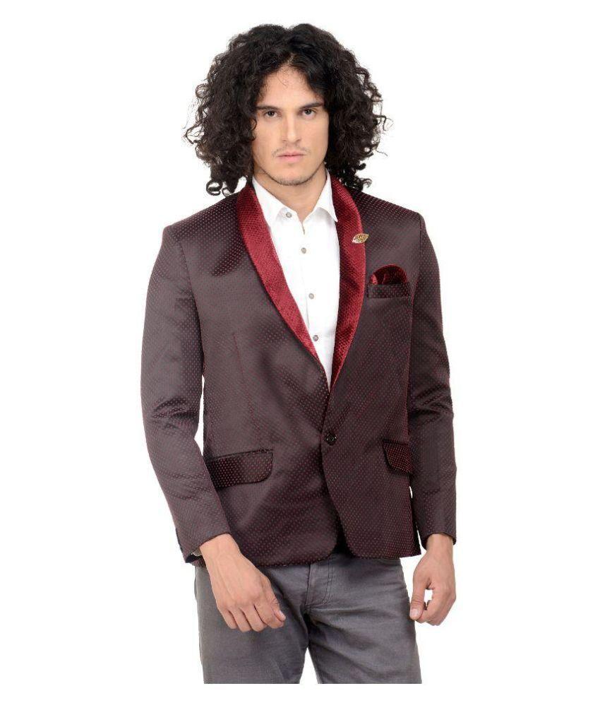 MM Fashion Brown Casual Blazers