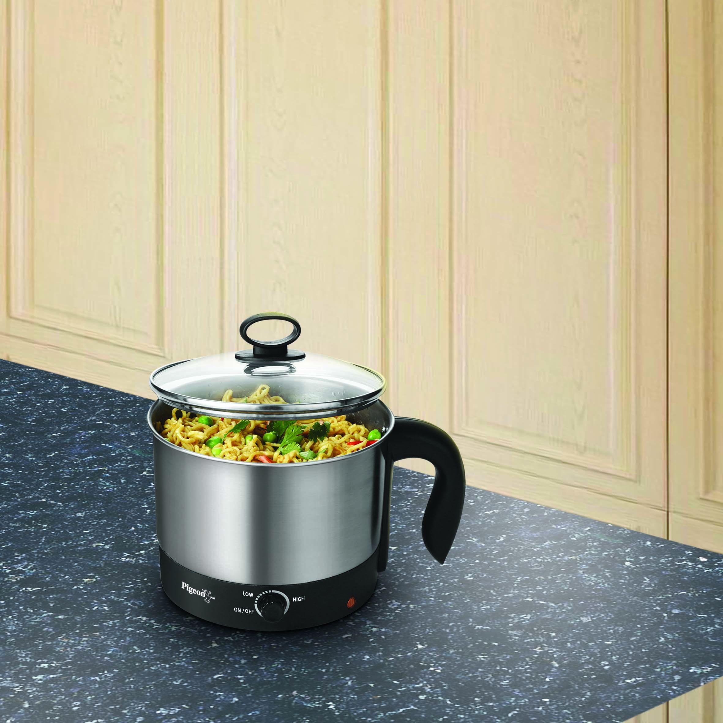 pigeon kessel 1 2 600 stainless steel electric kettle