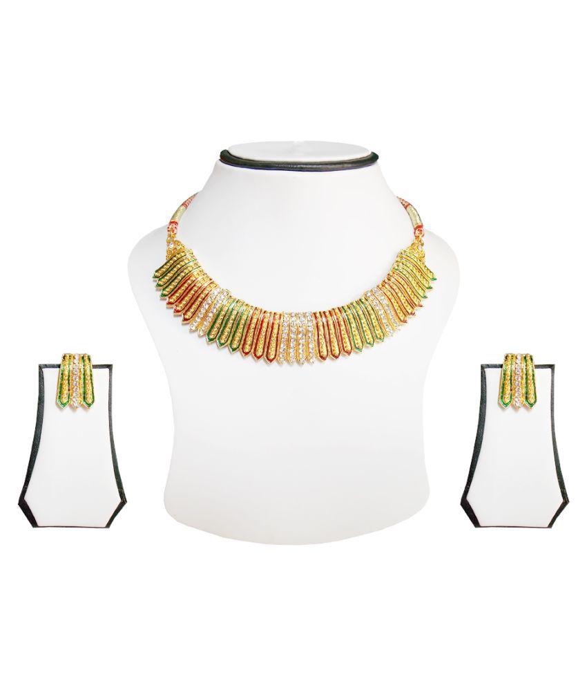 Simbright Multicolour Necklace Set