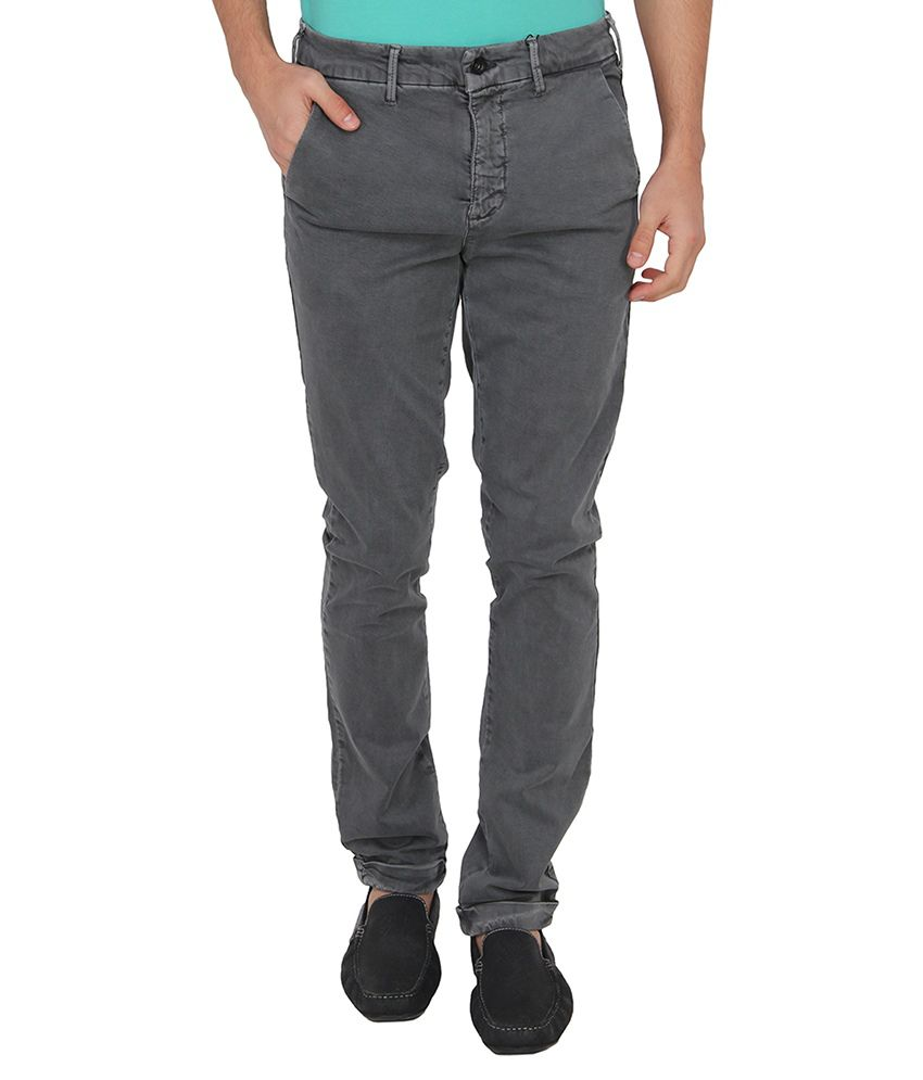 Calvin Klein Grey Slim Basic Jeans