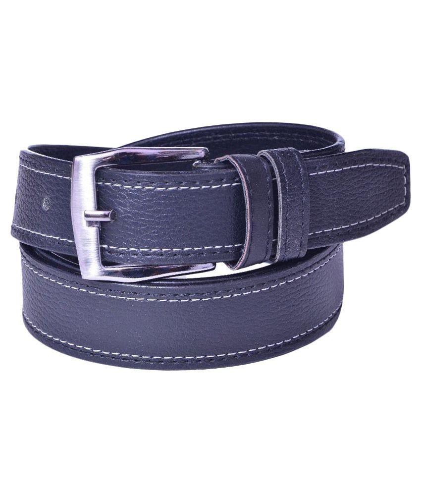 Daller Black Non Leather Belt