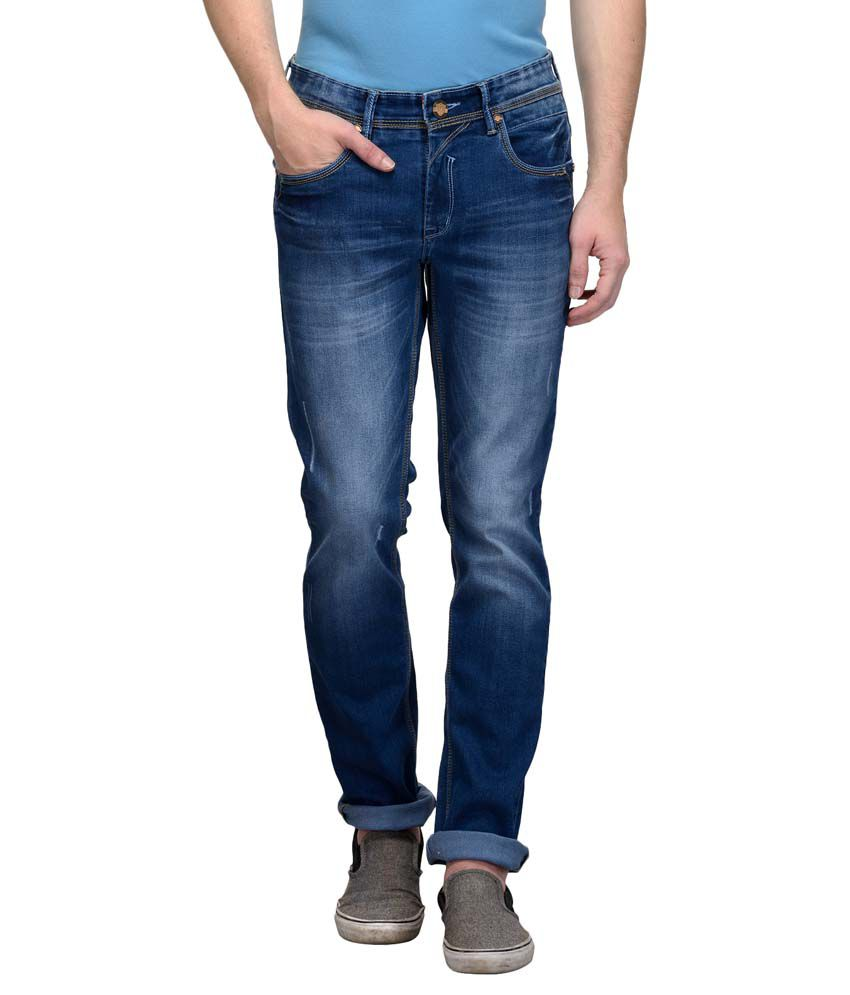 Canary London Blue Slim Distressed