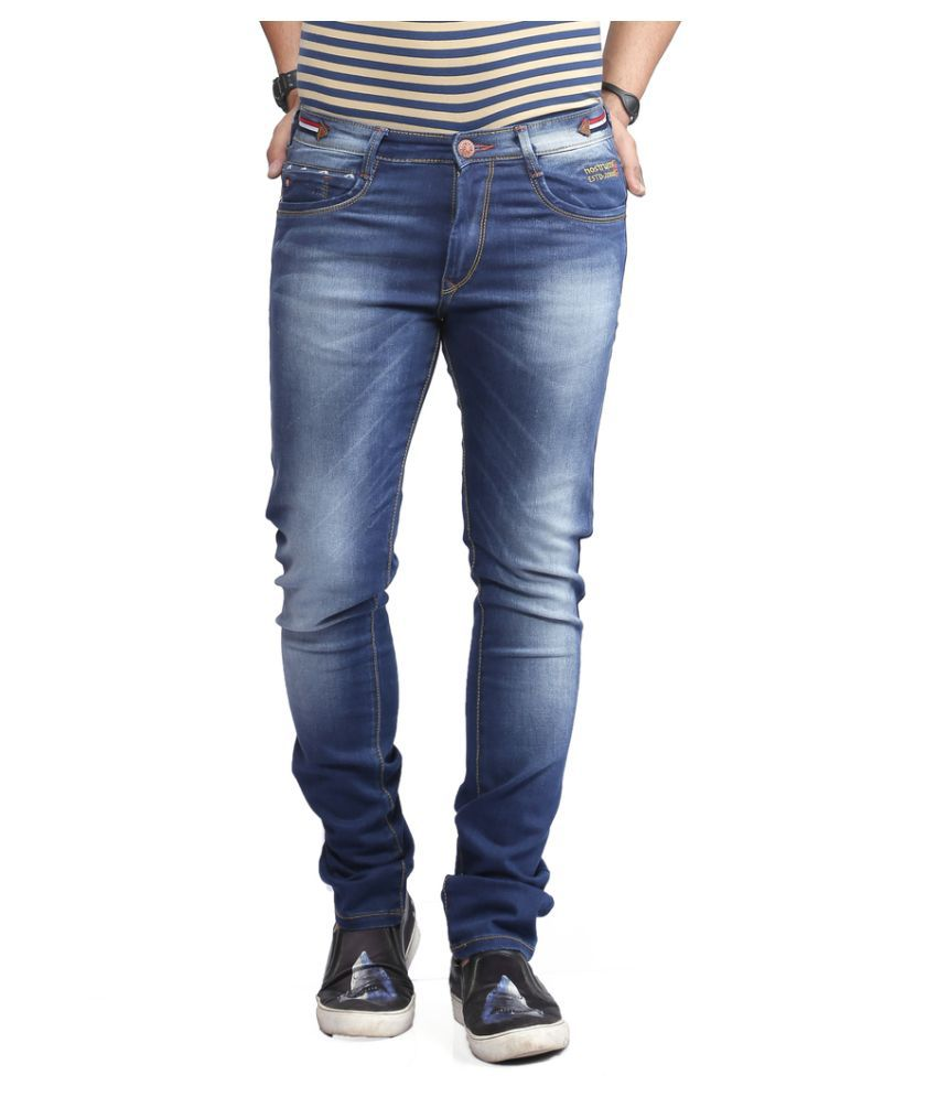 Nostrum Jeans Blue Slim Faded