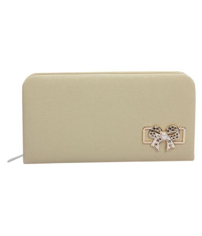 Polki White Handbags & Clutches