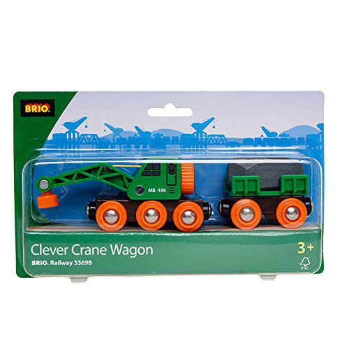 Brio Clever Crane Wagon Set Buy Brio Clever Crane Wagon Set Online