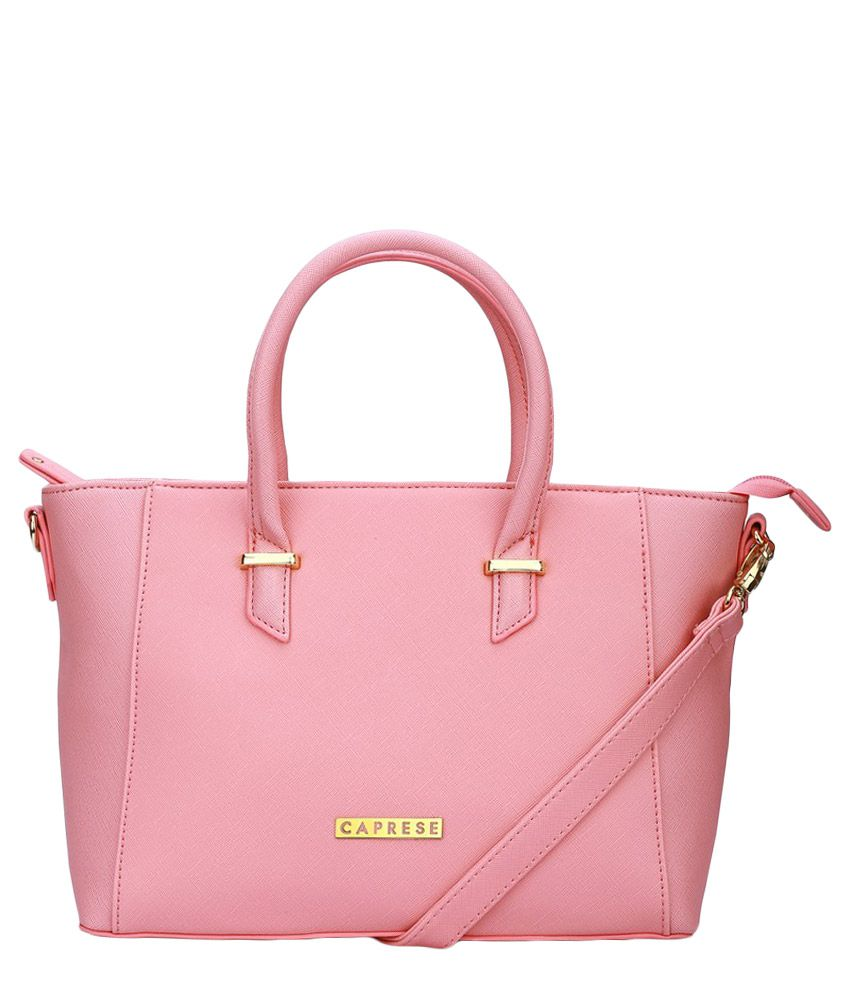 f3bb47cebf Caprese Phoebe Pink Tote Bag - Buy Caprese Phoebe Pink Tote Bag Online at  Best Prices in India on Snapdeal