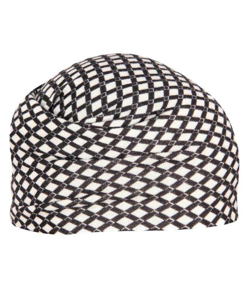 FabSeasons Multicolour Polyester Headwrap